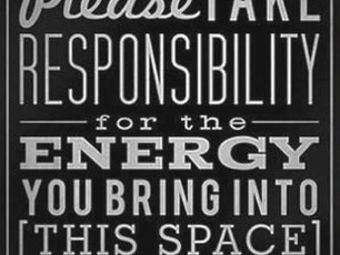 Today's Inspiration: Being Mindful of Our Energy