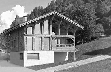 Architecture de montagne - chalet - Savoie - Adage architecture - Emmanuelle Guillet