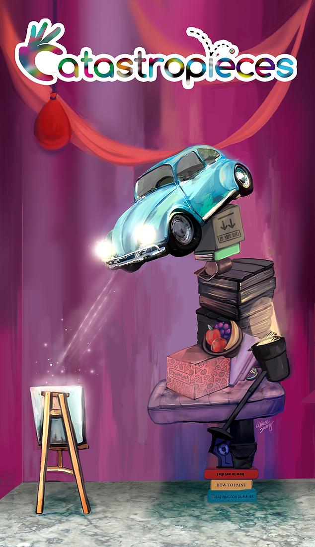 Catastropieces Game Poster (2018)