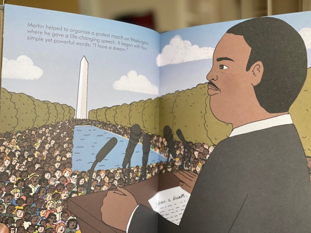 """Little People, Big Dreams"", ""Martin Luther King, Jr."", ""children's book"", ""social justice for children"""