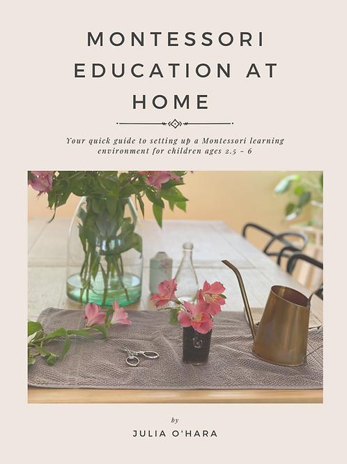 Montessori Education At Home