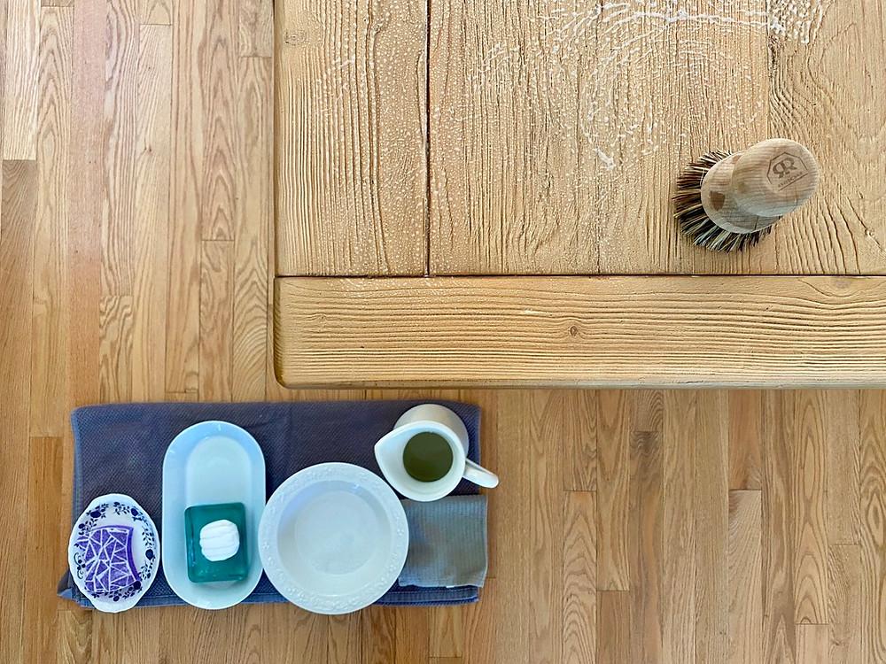 Montessori, practical life, montessori activity, table scrubbing, montessori activity