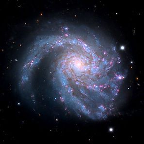 spiral-galaxy-M99-in Coma by SkyCenterUn