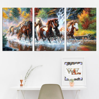 Kit - Pintura Cavalos