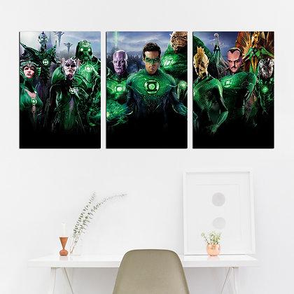 Kit - Lanterna Verde