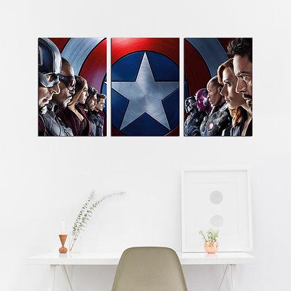 Kit - Capitão América- Guerra Civil