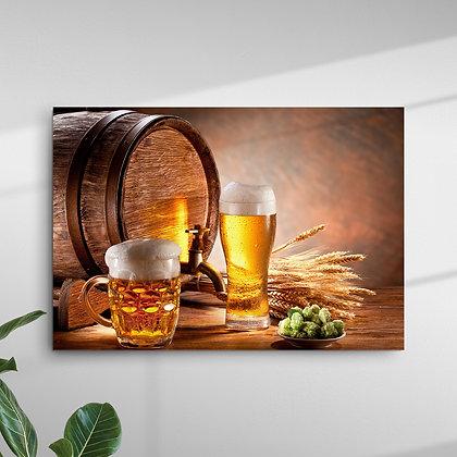 Caneca, Taça e Barril de Cerveja