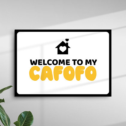 Welcome To My Cafofo