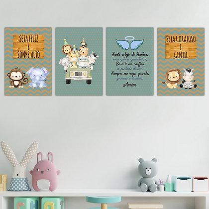 Kit - Infantil Safari