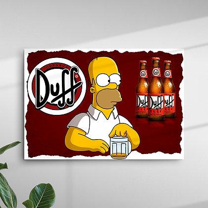 Duff Homer Simpson