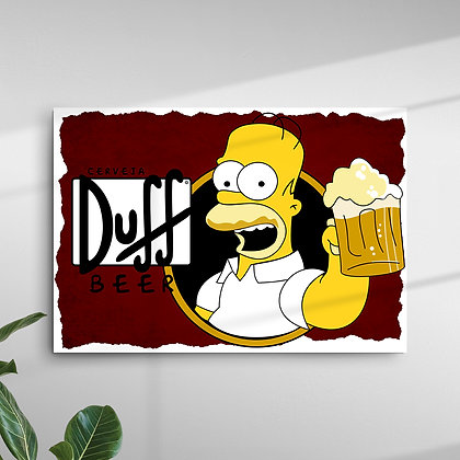 Cerveja Duff Beer Homer Simpson