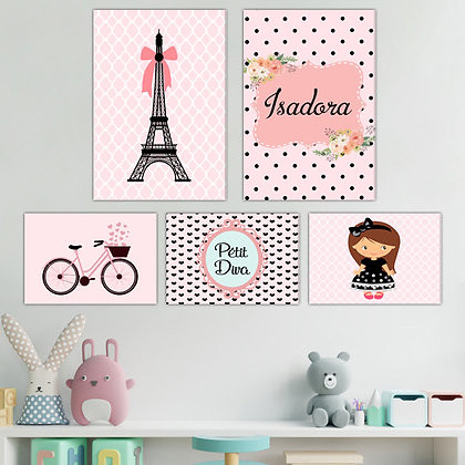 Kit - Infantil Menina Paris