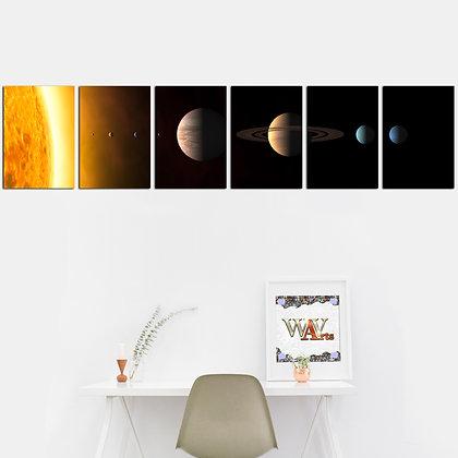 Kit - Planetas Galáxia