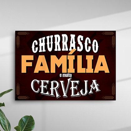 Churrasco, Família e muitas Cerveja