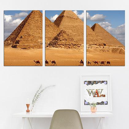 Kit - Pirâmides egípcias