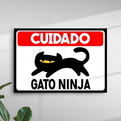 Cuidado Gato Ninja