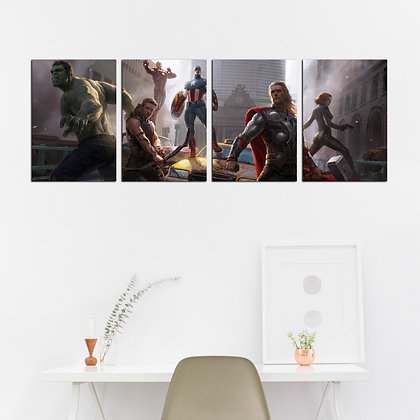 Kit -  Marvel's The Avengers: Os Vingadores