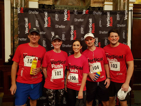 Congratulations to our Vertical Rush Challenge Team