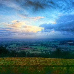 View from Lydyard hill