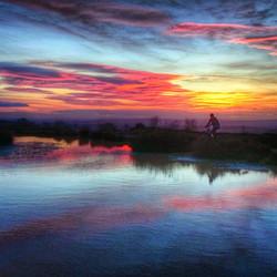 Blackdown hills sunset