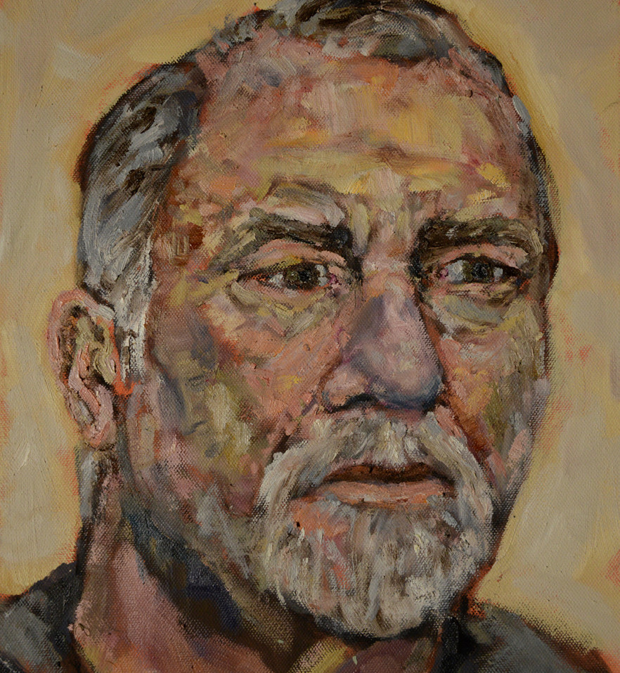 Self portrait (Quick Painting)
