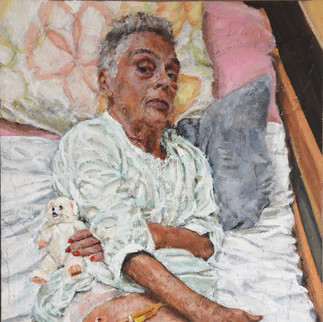 """""""Doctor - Patient""""        Selected for the BP Portrait Award 2019"""