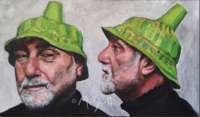 Self Portrait With A Silly Clone (Hat)