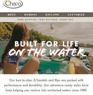 Chaco Email Example