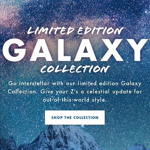Chaco Limited Edition Galaxy Collection
