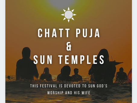 Chhath Puja and Sun Temples