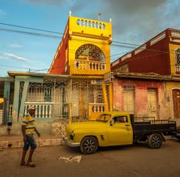 Near Casa particulares in Trinidad