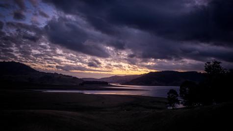 Lake St Clair at sunset