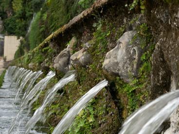 Fountains at Villa d'Este, Italy
