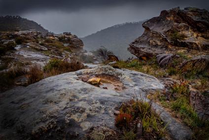 Rainy day at Mt Banks