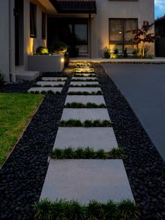 Formal garden design by Lisa Kaplan, in Gladesville