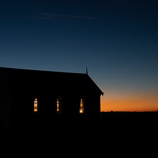 Little Chapel, Hunter Valley at sunset