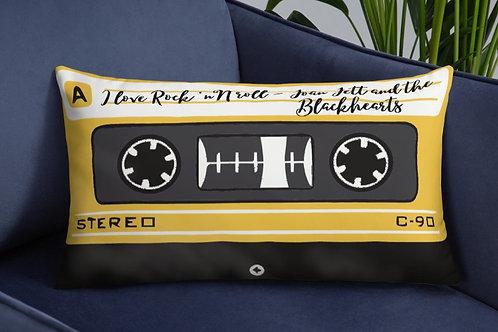 Oreiller: Cassette- I Love Rock N Roll