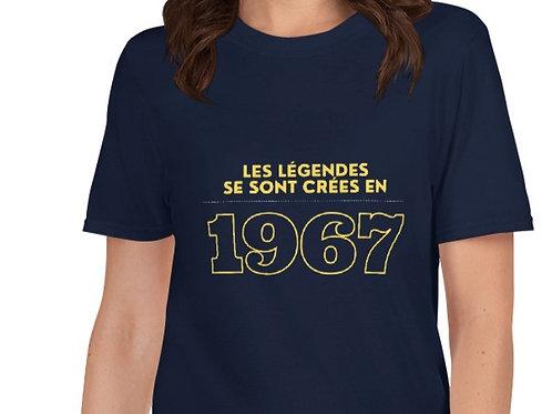 T-Shirt unisexe: Légendes 1967
