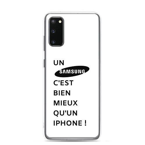 Case de Samsung : Bien mieux qu'un Iphone