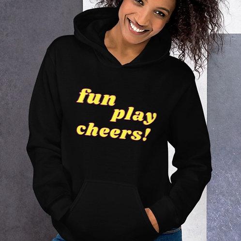 Hoodie Unisexe: Fun play Cheers!