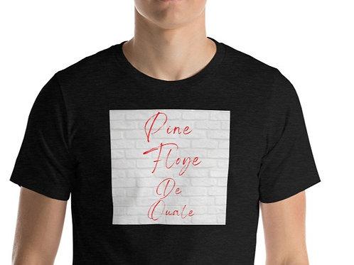 T-Shirt unisexe : Pine Floye de Ouale (Pink Floyd The Wall)