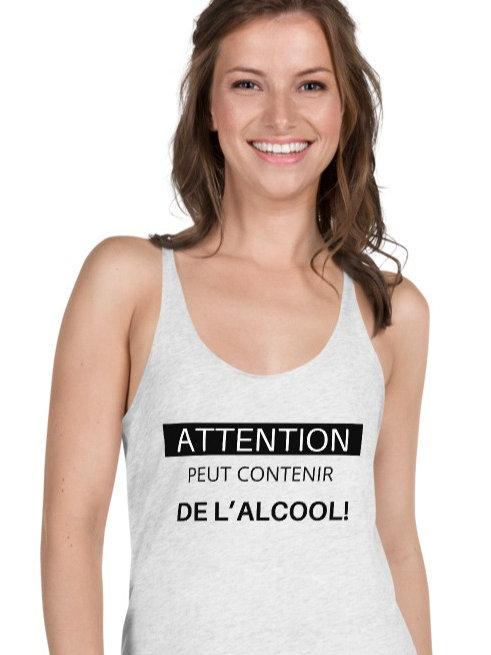 Camisole: Peut contenir de l'alcool