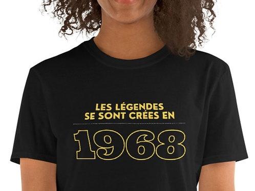 T-Shirt unisexe: Légendes 1968