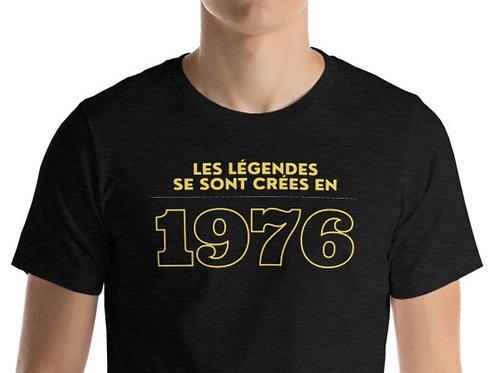 T-shirt Unisexe : 1976