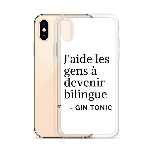 Case de iPhone : J'aide les gens