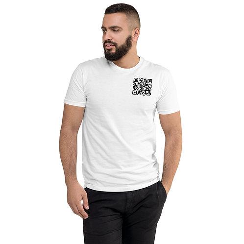 T-Shirt Code QR avant- Tu es curieux(se)
