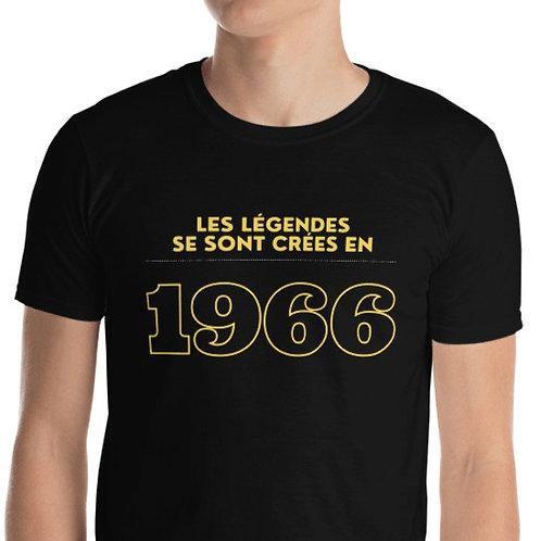 T-Shirt unisexe: Légendes 1966