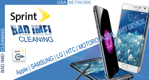 SPRINT - BAD IMEI CLEANING