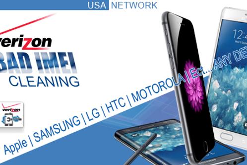 Verizon BAD IMEI Cleaning (Lost/Stolen/Unpaid Bills) All Phones