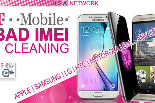 T-Mobile BAD IMEI Cleaning (Lost/Stolen) ONLY!!